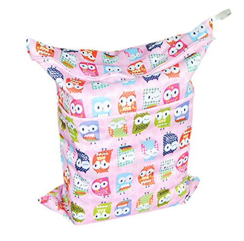 Besto Baby Waterproof Wet And Dry Cloth Diaper Laundry Bags L26 front-606229