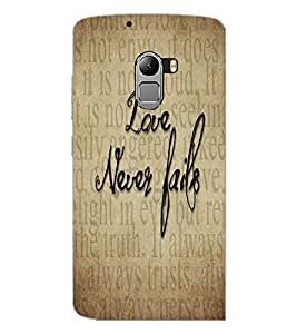 PrintDhaba Quote D-5540 Back Case Cover for LENOVO K4 NOTE A7010 (Multi-Coloured)
