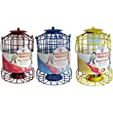 Set of 3 x Squirrel Proof Bird Feeders - Nut, Seed & Fat Ball