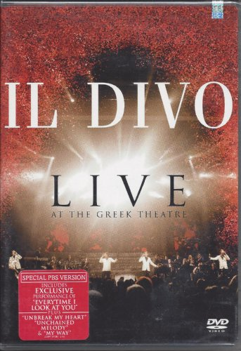 Il divo live at the greek dvd covers - Il divo download ...