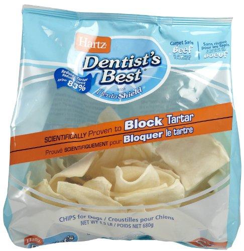 Hartz Dentist's Best Rawhide Chips 1.5 lb