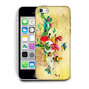 Snoogg Paint Splash Printed Protective Phone Back Case Cover For Apple Iphone 6 / 6S