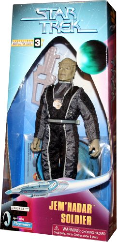 "Star Trek Jem'Hadar Soldier 9"" Warp Factor Series 3 Action Figure"