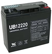 12V 22Ah SLA Battery Replaces CB19-12, ES1217, UB12200, LC-RD1217P