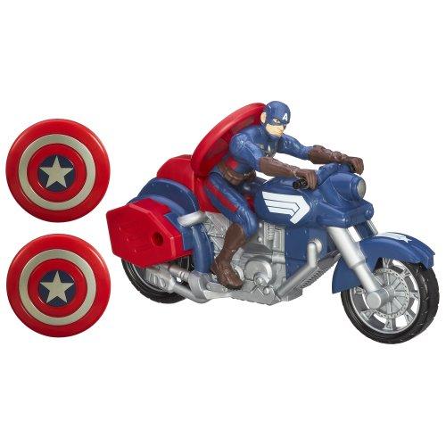 Captain America - Avengers Personaggio e Moto