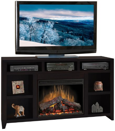 "Urban Loft Fireplace Console 62"""