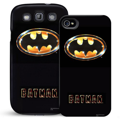 Batman 1989 Logo Phone Case for Galaxy S5 at Gotham City Store