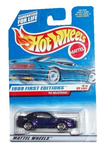 Hot Wheels 1999: First Editions : '99 Mustang 1/64 scale (2 of 26 Collector #909) - 1