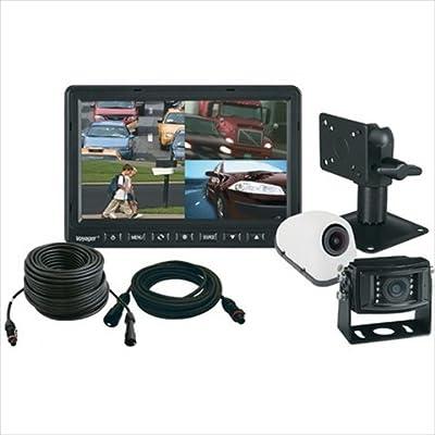 "ASA Electronics VOS74TQKIT 7"" Quad-View Back-Up System"