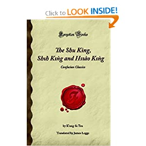 Amazon.com: The Shu King, Shih King and Hsiao King: Confucian ...