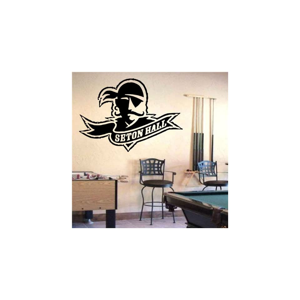 Ncaa Wall Mural Vinyl Sticker Sports Logos Seton Hall Pirates (S869)