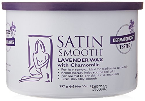 Satin Smooth Lavender Wax with Chamomile, 14 Ounce (Satin Smooth Wax compare prices)