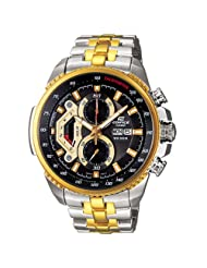 Casio Edifice Analog Black Dial Men's Watch  EF-558SG-1AVDF