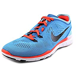 Nike Free 5.0 Tr Fit 5 Women US 12 Blue Running Shoe