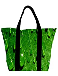 Snoogg Dew Drops Womens Large Shoulder Tote Bag