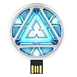 Quace EnergyReactor-16 Super Hero Energy Reactor Cool Fancy USB Flash 16 GB Pen Drive