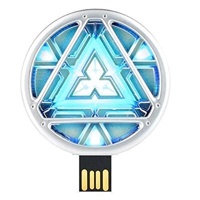 Super Hero Energy Reactor Cool Fancy USB Flash 8 GB Pen Drive with Quace Branded Premium Box