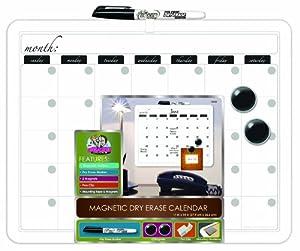 "Board Dudes 11"" x 14"" Plastic Framed Magnetic Calendar (12032UA-4)"