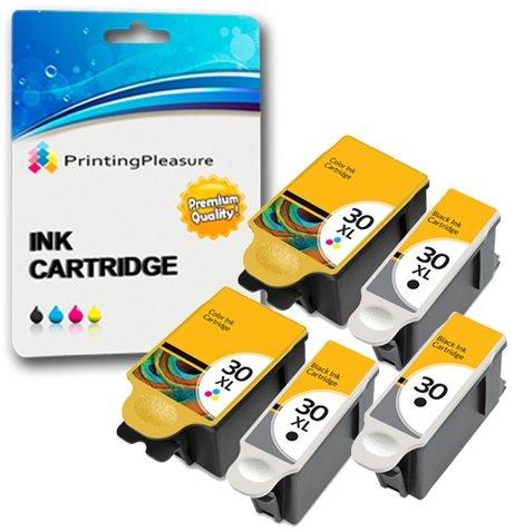 printing-pleasure-kit-5x-kodak-30-3x-30b-nero-2x-30cl-colore-cartucce-dinchiostro-compatibili-per-ko