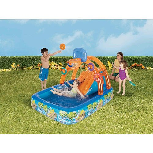 Inflatable drinking water Slides:Banzai crazy Waves drinking water Park Images