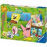 Ravensburger Sponge Bob & Friends 09378 Puzzle 3 x 49-Piece
