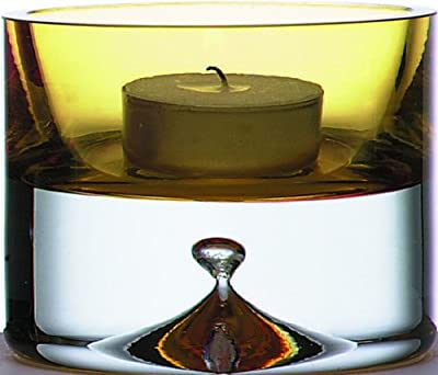 Thermos Bubblebase Tealight Candle Holder Amber from Thermos