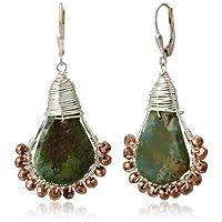 [アマンダ・ステレット] AMANDA STERETT 天然石ターコイズ フックピアス F10413 Earrings