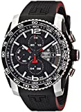 Tissot Men's T0794272705700 PRS 516 Stainless Steel Automatic Watch with Black Rubber Band
