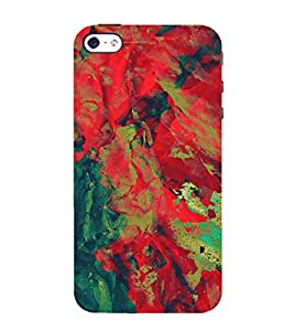 EPICCASE red waves Mobile Back Case Cover For Apple iPhone 4/4s (Designer Case)