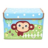 Monkey Printed Foldable Storage Box