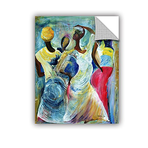 "ArtWall Ikahl Beckford's Sister Act 2002 Art Appeelz Removable Graphic Wall Art, 24 x 32"""