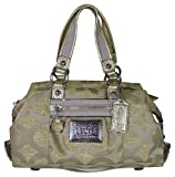 Coach Poppy Sateen Lurex Luxey Satchel Goldmine