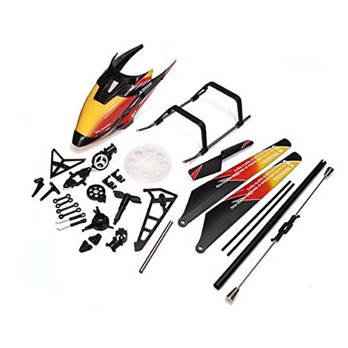 WINOMO Replacement WLtoys V913 2.4GHz 4CH RC Helicopter Spare Parts Accessories(Orange) (V913 Replacement Parts compare prices)