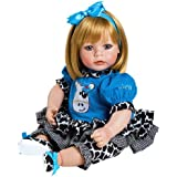 "Amazon.com: Adora Baby Doll 20"" Classic Snow White (Dark Brown Hair"