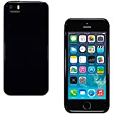 STYLEaphone® TPU GLOSS GEL CASE COVER SKIN PROTECTOR FOR IPHONE 5C (SOLID BLACK)