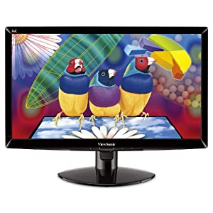 ViewSonic VA2037A-LED 20-Inch LED-Lit LCD Monitor, 16:9, 5ms, Anti-Glare from ViewSonic