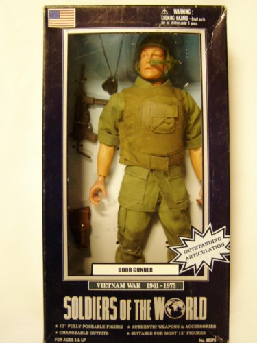 Buy Low Price Formative International Soldiers of the WorldVIETNAM WAR DOOR GUNNER Figure (B004AFQXOS)