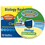 NewPath Learning Biology Review Interactive Whiteboard CD-ROM, Site License, High School