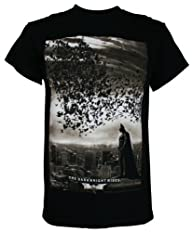 Batman: The Dark Knight Rises City Bats Men's T-Shirt