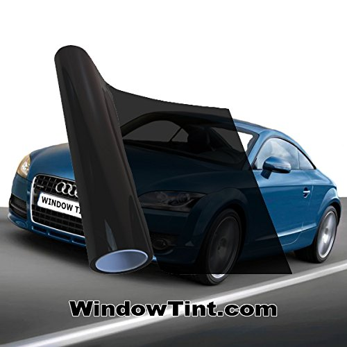 Pro Non-Reflective 5% VLT Auto Window Tinting Film 24 Inch Wide x 30 Feet Long Roll (Pro Tint Windows compare prices)