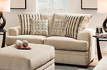 Chelsea Home Furniture Calexico Loveseta, Cornell Platinum