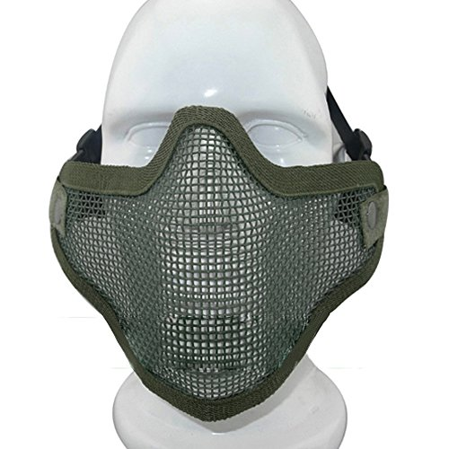 ezyoutdoor-tactical-v2-strike-steel-paintball-half-face-airsoft-mask-wire-mesh-face-mask-new-for-rid