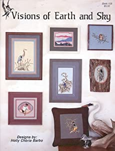 Pegasus Originals Visions of Earth & Sky Counted Cross Stitch Leaflet