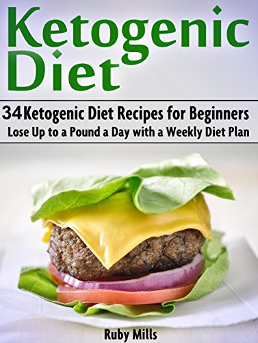 Ketogenic Diet: 34 Ketogenic Diet Recipes for Beginners - Lose Up to a Pound a Day with a Weekly Diet Plan (ketogenic diet, ketogenic diet plan, ketogenic diet recipes) by Ruby Mills