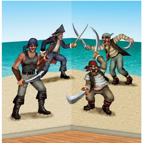Dueling Pirate & Bandit Props Party Accessory (1 count) (3/Pkg)