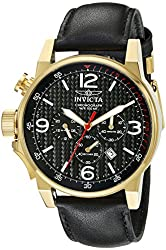 Invicta Men's 20135SYB I-Force Analog Display Quartz Black Watch