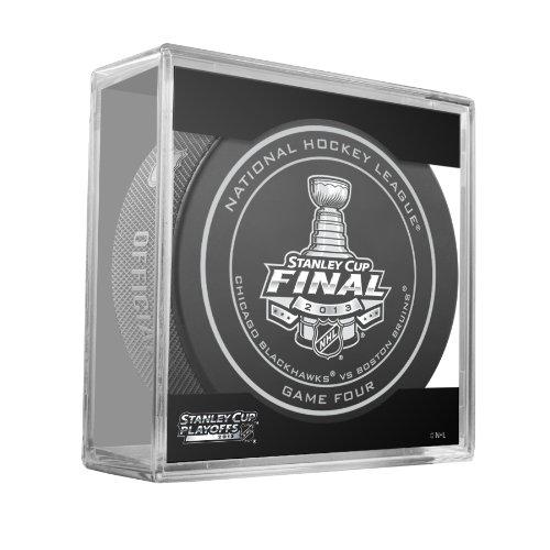 2013 NHL Stanley Cup Finals Chicago Blackhawks Vs. Boston Bruins Game 4 Puck