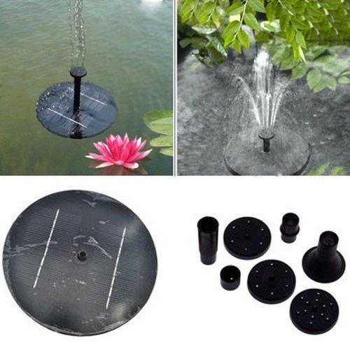 Pannello Solare Per Fontana : Baisiwei pannello solare di potenza della pompa ad acqua
