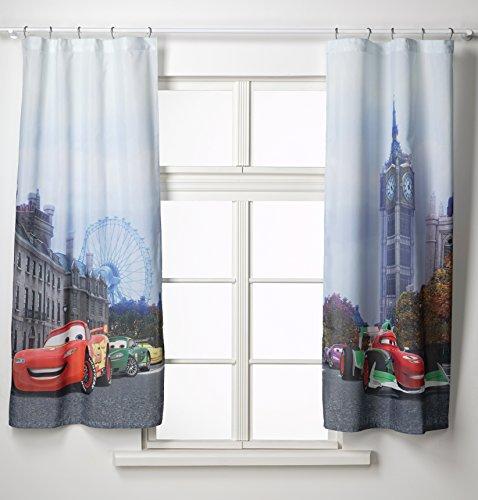 Gardine Kinderzimmer Cars : Gardine Vorhang FCS xl 4312 Kinderzimmer Disney Cars