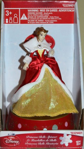 Princess Belle Disney Christmas Spinner